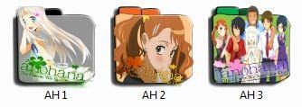 Ano Hana Folder Pack Icon