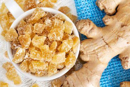 La recette du gingembre confit maison, un peu long à préparer mais facile et irrésistible !