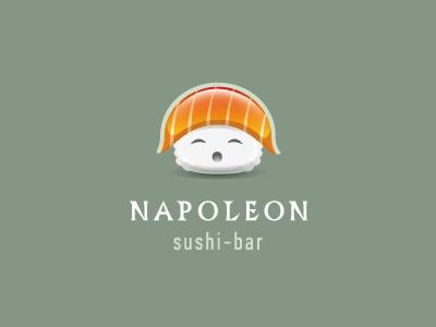 Napoleon Sushi Bar log (so cute!)