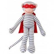 Alimrose Superhero Monkey Rattle
