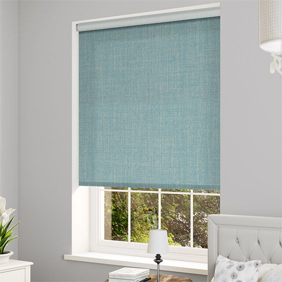 Thermal Luxe Blackout Teal Roller Blind%20from%20Blinds%202go