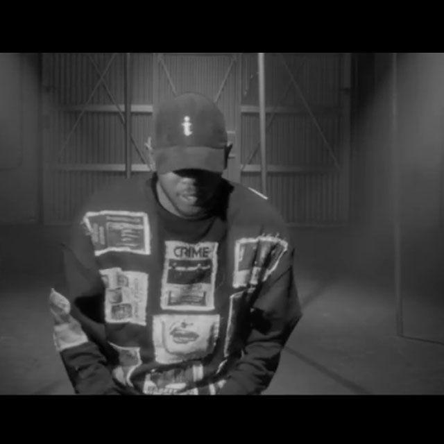 Kendrick Lamar wearing our Flyers Sweatshirt