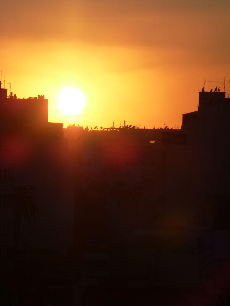Atardecer en mi querido Marruecos