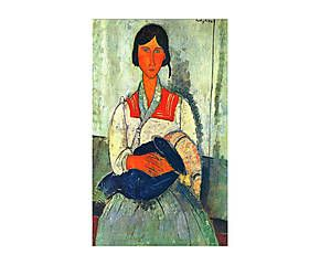 Canvas print Moeder II, multicolor, 40 x 70 cm