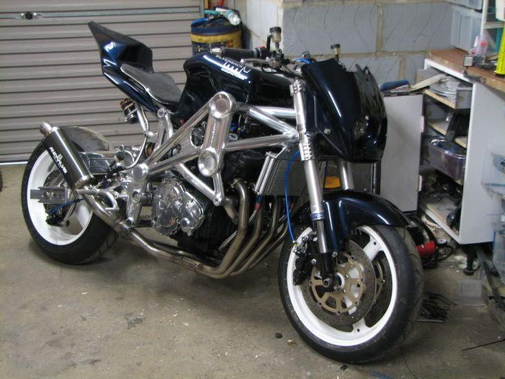 Street fighter conversion - Speedzilla Motorcycle Message