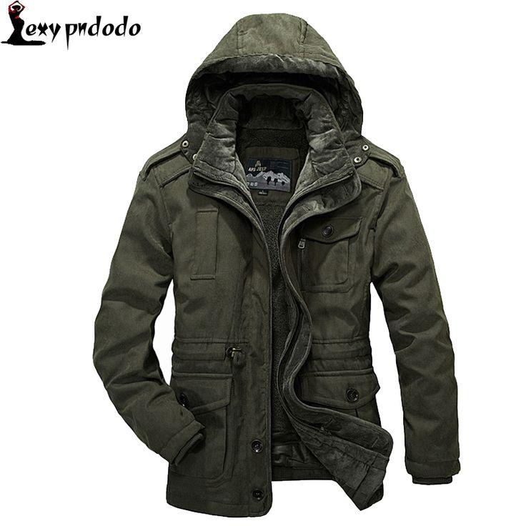 94.99$  Watch here - http://aliibg.worldwells.pw/go.php?t=32721294436 - Parka Man Winter Jacket Men Cotton-Padded Jacket Thickening Fashion Warm Down Coat Thick Hooded Windproof heren winter jassen 94.99$