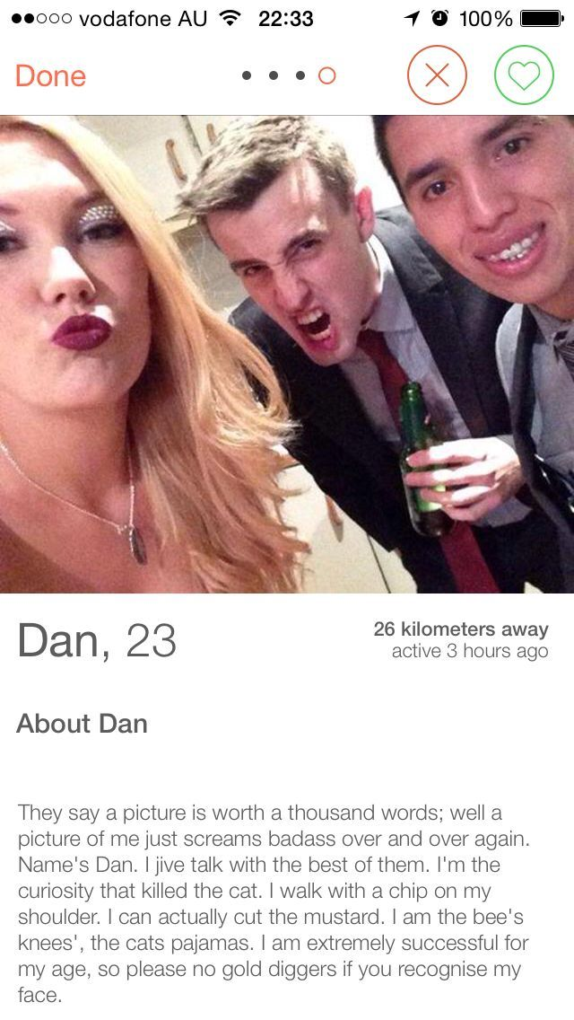 Funniest tinder profiles [11 Pics] - Bored be gone.
