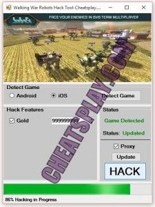This is Walking War Robots Hack Cheats ONLINE. Walking War Robots Hack Cheats Tool Unlimited Silver and Fuel Hi! Welcome to cheatsupdate.com, here is the home of the greatest hacks ever created now you.
