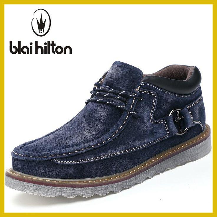 blaibilton Brand 2018 Spring Autumn <b>Genuine Leather</b> Casual ...