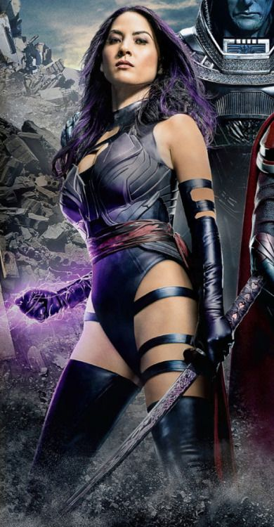 superheroesincolor:    Psylocke (Olivia Munn) // X-Men: Apocalypse (2016)