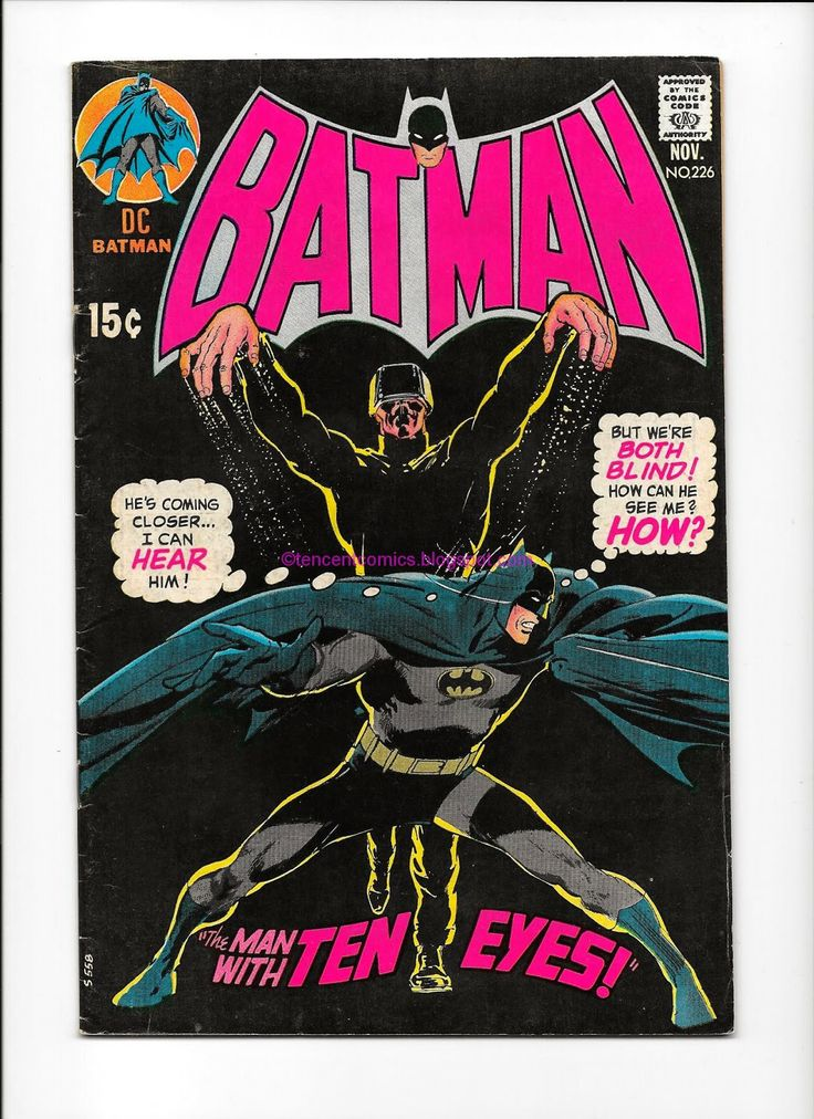 Comic Books For Sale: Batman 226 1970