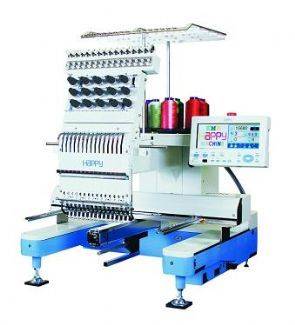 HCS1201 #Happy #Embroidery #Machine - Queensland's #exclusive sales and service representative www.embroideryzone.com.au    #embroider #embroidery