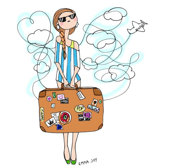 428 Best Travel Bags Illustrations Images On Pinterest