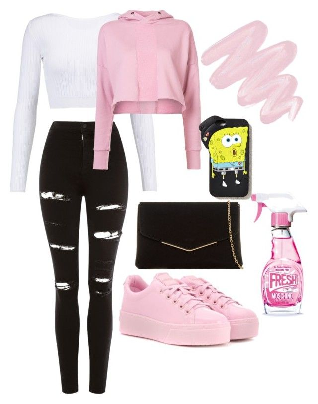 """Без названия #48"" by polja15p on Polyvore featuring мода, Topshop, Cushnie Et Ochs, daniel patrick, Kenzo, KoKo Couture, Forever 21, Obsessive Compulsive Cosmetics и Moschino"