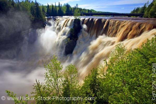 Kakabeka Falls, near Thunder Bay in Northern Ontario