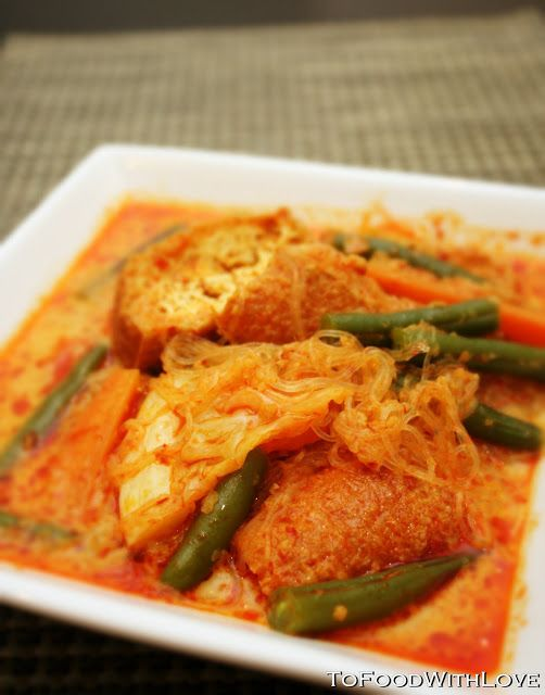 To Food with Love: Sayur Lodeh (Vegetable Curry)