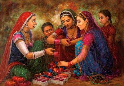 Lady Bangle Seller