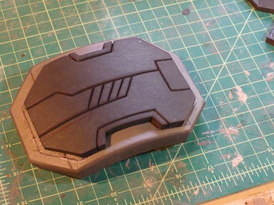 How to add detail lines to EVA foam. Easier than you would think!