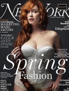 Christina on the Cover of New York Magazine