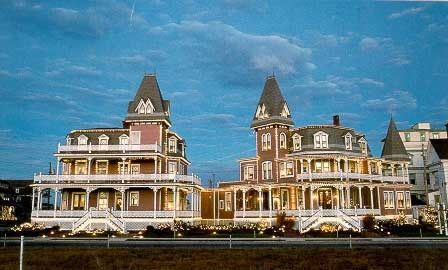 Angel of the Sea - Cape May, New Jersey. Cape May Bed and Breakfast Inns