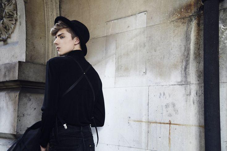 gTIE leather Suspenders | Mikko Puttonen x Image