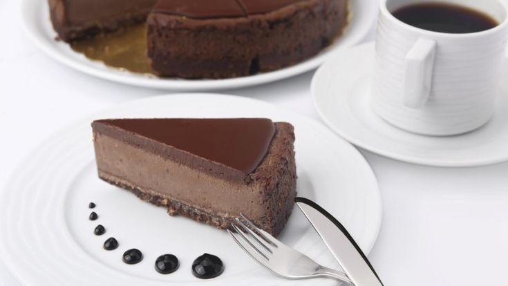 Extra čokoládový cheesecake | Recepty.sk