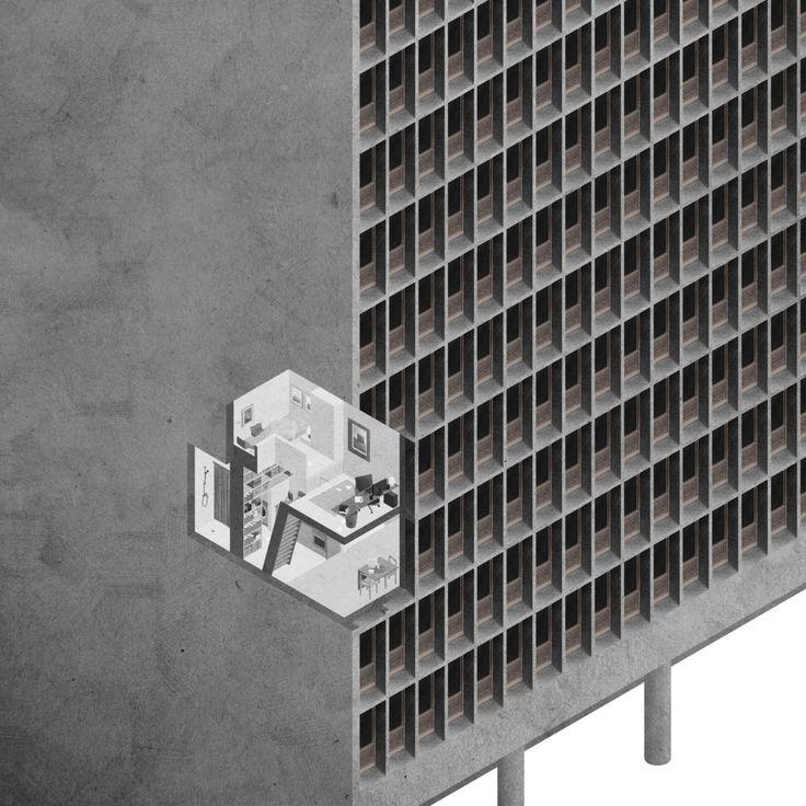 arkitekcher: Høyblokka Revisited | Kollaboratoriets Location: Oslo, Norway | 2014