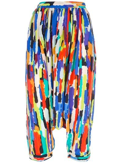 LABOUR OF LOVE - printed harem pants $153.  This is as far as I go.