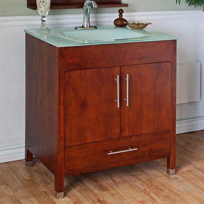 Bellaterra 203110-W 32.3-in Single Sink Bathroom Vanity #home decor sale & deals Finish:Medium Walnut 32.3-in Single Sink Bathroom Vanity If youre looking for the a complete bathroom vanity set, then look no further than this conte...