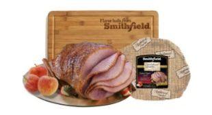 Woman's Day - Win a Smithfield Spiral Ham & Bamboo Carving Board (5 Winners)