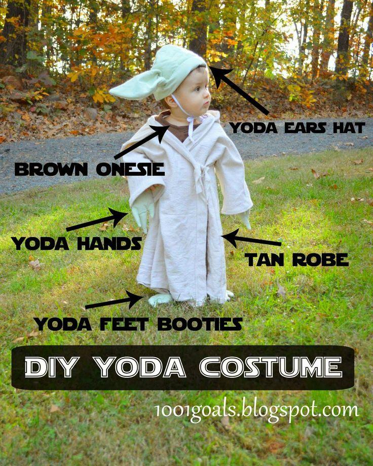 1001 Goals: DIY Luke Skywalker and Yoda Halloween Costumes