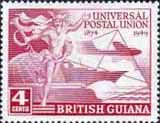 British Guiana 1949 UPU Fine Mint                    SG 324 Scott 246 Other West Indies and British Commonwealth Stamps HERE!
