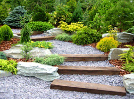 Garden Design Using Sleepers 25+ best ideas about sleepers garden on pinterest | sleeper wall
