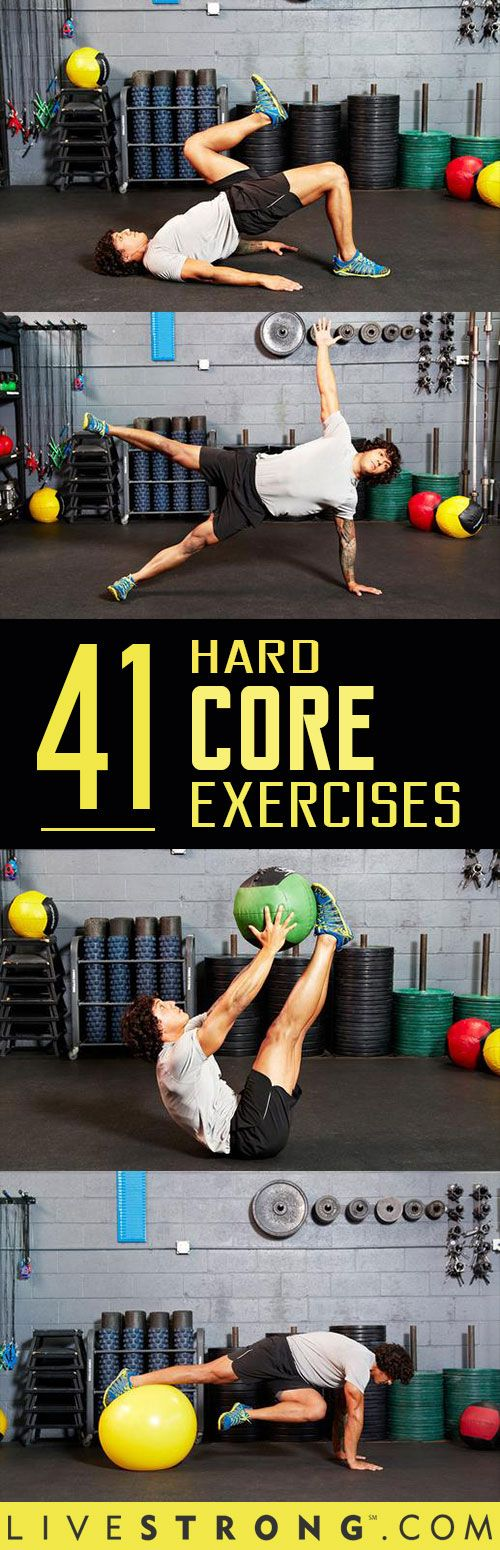Think you�re hardcore -- or that you have a hard core? Prove it! These 41 midsection-mangling moves are some of the most advanced on the planet.