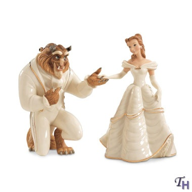 Disney Beauty And The Beast Wedding Cake Toppers