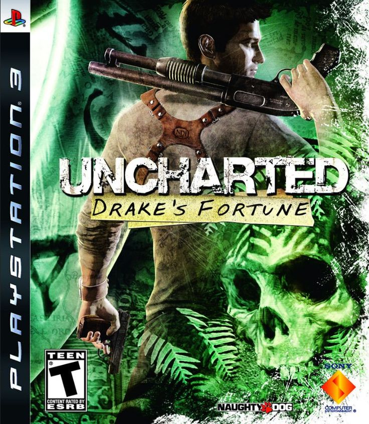 UNCHARTED: DRAKE'S FORTUNE - PLAYSTATION 3 --- Naaaateeeee <3