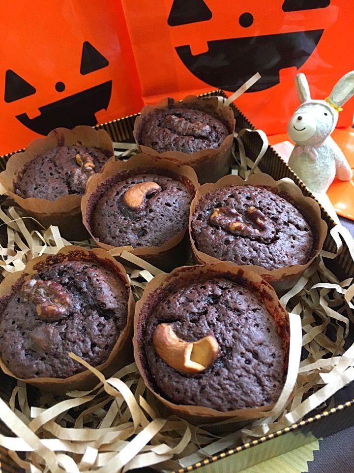きまぐれのぶ's dish photo チョコレートブラウニー | http://snapdish.co #SnapDish #レシピ #チョコレート #ハロウィン #バレンタイン #クリスマス #チョコレートの日(2月14日)