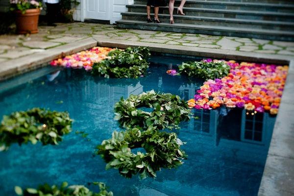 Pool Wedding Decoration Ideas: 298 Best Poolside Wedding Images On Pinterest