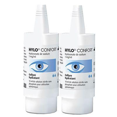 HYLO CONFORT Collyre Hydratant - 2x10ml