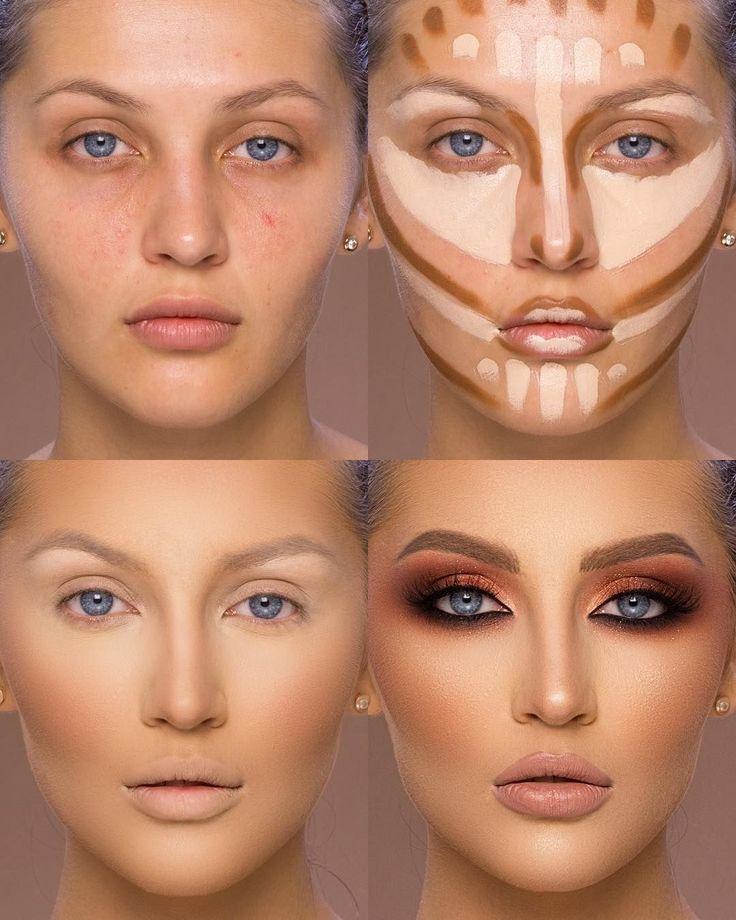 37 Hübsche Make-up-Tutorials für Anfänger und Anfänger 2019