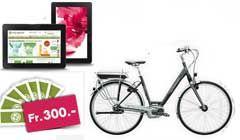 Gewinne ein E-Bike, ein Amazon Kindle Fire HD und Gutscheine