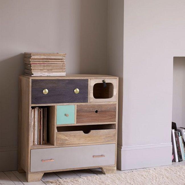 mango wood furniture storage meryl wooden chest