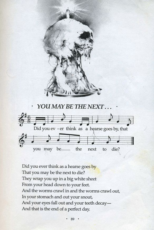Stephen Gammell's illustrations for Scary Stories to Tell in the Dark
