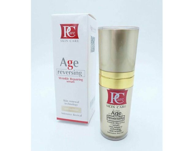 Age Reversing by Pcare Skin Care is the intensive serum that helps rejuvenate facial skin. Formulated under the latest innovation, it can powerfully help lift up wrinkly cheeks and reduce wrinkles on face and around eyes to be noticeably tight and firming within 7 days after a continual use.