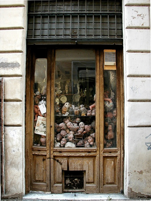 Doll hospital in Rome