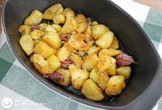 Patatas asadas al estilo Jamie Oliver - Recetasderechupete.com