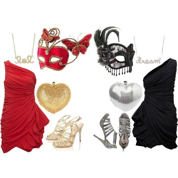 masquerade outfits polyvore - 25+ Bästa Masquerade Outfit Idéerna På Pinterest