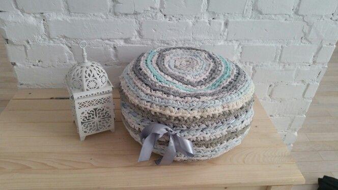 Handmade meditation cushion