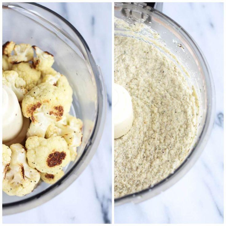 Roasted Cauliflower White Pizza Dip | halfbakedharvest.com