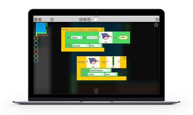 GameLooper – Drag & Drop 2D Mobile Game Development Tool